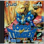 Lords of Thunder TurboGrafx 16 CD