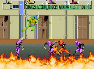 Teenage Mutant Ninja Turtles - mame